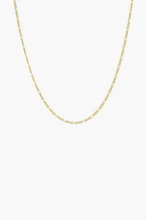 Long figaro chain gold 50cm wildthings