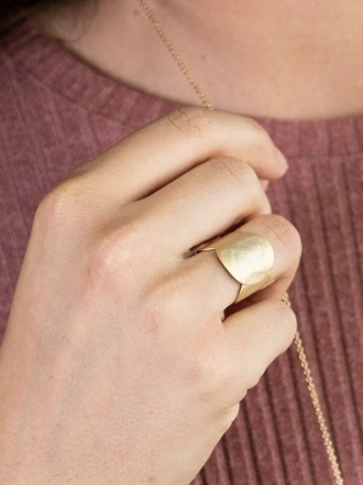 Ring golden - Sergio Engel