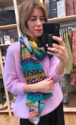 PONS SCARF Bunt by SKFK Ethical