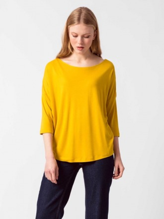 MARIAPAULE T-SHIRT yellow by SKFK Ethical