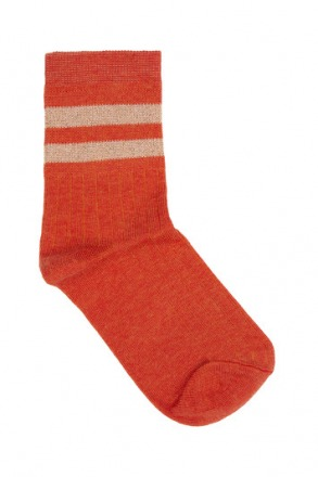 sparkle stripe sock - coralle -