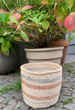 Solid Handgewebter klassischer Sisal-Korb Werte: Umweltfreundlich