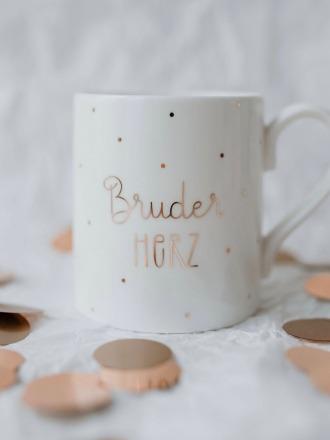 Fine Bone Becher - Bruderherz -