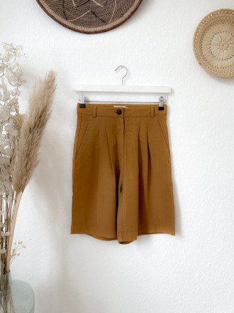 Givn Petra Trousers Rubber Brown aus