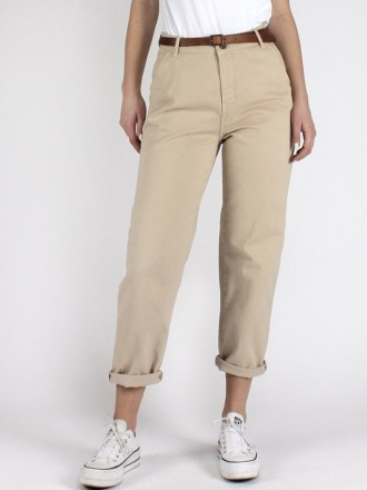 LARA CHINO SAND Organic Cotton by