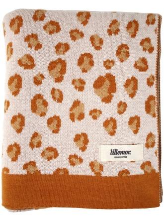 Eef Lillemor Blanket leopard/brown Babydecke