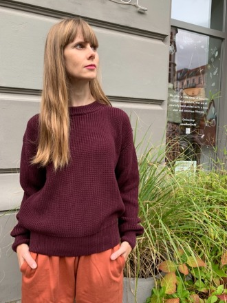 Givn Berlin Strickpullover ARIA Bordeaux authentic