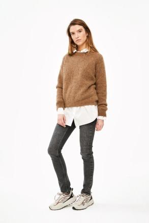 lana organic pullover - camel -