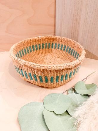 Bread Basket F25 Grün FAIR TRADE