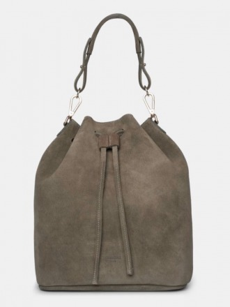 Saku Bucket Bag Suede Olive by