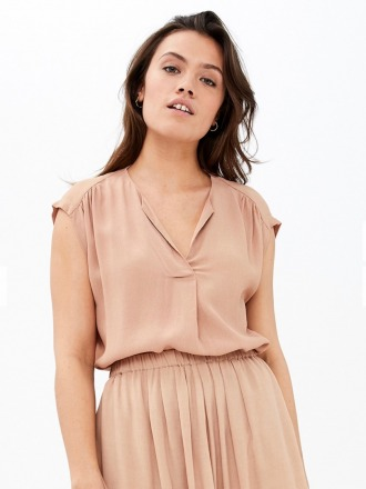 star top - nude - by-bar