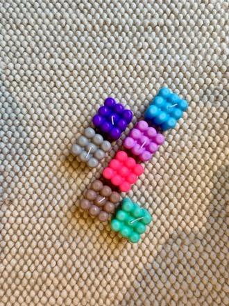 UNIQUE ARTS Bubble Kerzen verschiedene Farben