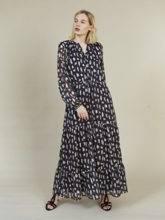HAZEL LONG DRESS - Storm &
