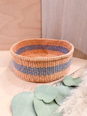 Bread Basket F33 Blau FAIR TRADE