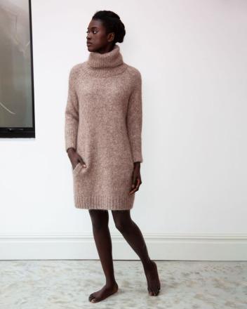 Nell-Marie Alpaca Organic Cotton Dress In
