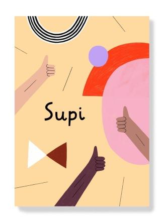 Postkarte - Supi - AnnaKatharinaJansen