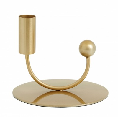 NORDAL JUPITER candle holder brass NORDAL