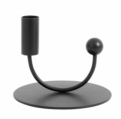 NORDAL JUPITER candle holder black NORDAL