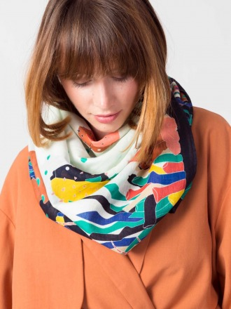 BOGA SCARF Colorful by SKFK Ethical