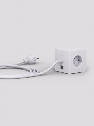 Power Extender Square Gotland Grey
