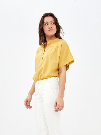 bo blouse - bamboo - by-bar