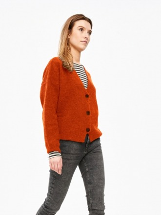 sofie cardigan - chili - by-bar