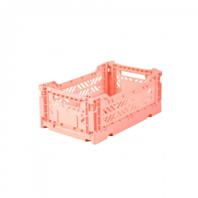 AyKasa Mini Storage Box Salmon Storage
