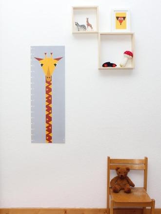 Messlatte / Poster Giraffe - von