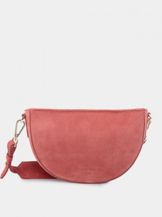 Dani Suede Rouge Schultertasche by ann