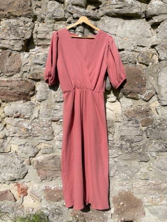MIO ANIMO MAJA DRESS aus Musselin