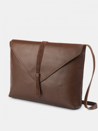 Tira Nappa Shoulder Bag Marone by