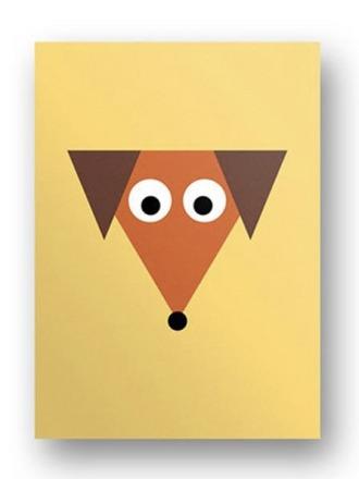 Postkarte Hund - von FräuleinEA
