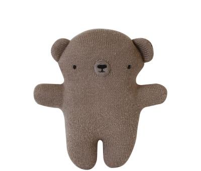Plush Rattle Bear Brown Eef