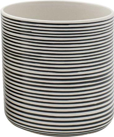 Topf STRIPES Keramik Liv Interior sustainable