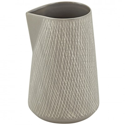 Kännchen CAROL Keramik grau 8x125cm Liv