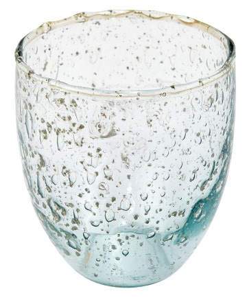 Liv interior Trinkglas recyceltes Glas cm