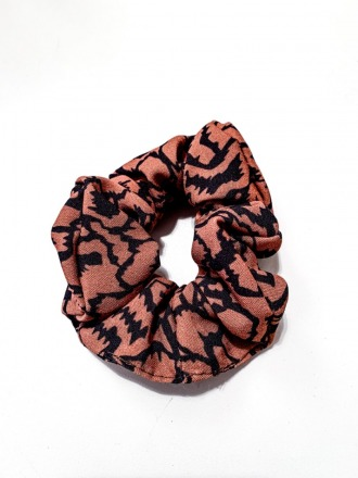 MIO ANIMO Scrunchie Savannah Fair made