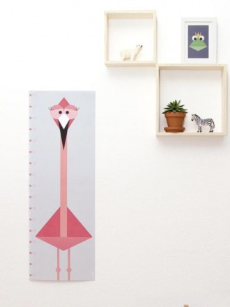 Messlatte / Poster Flamingo - von