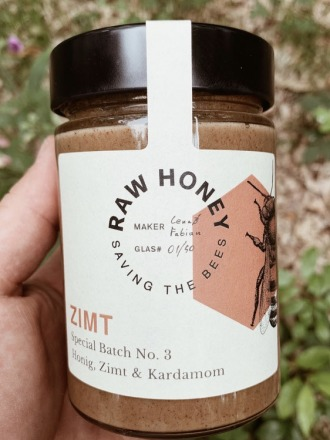 Raw Honey Zimt RAW HONEY Saving