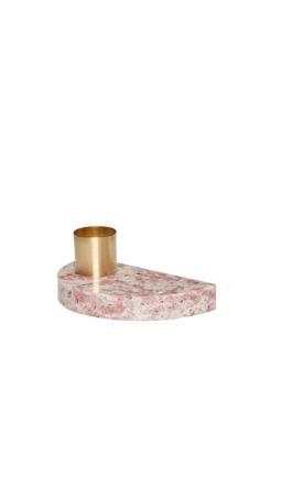 Hübsch Kerzenhalter Terrazzo Rosa ONLINE EXCLUSIVE