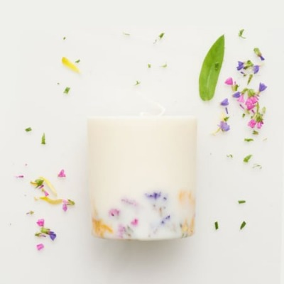 Sojawachs Duftkerze - Wildblume - MUNIO