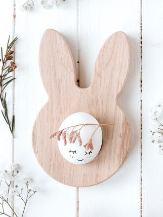 Eierbecher Hase - Eulenschnitt