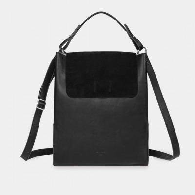 Alex Laptoptasche Nappa/Suede Black by ann