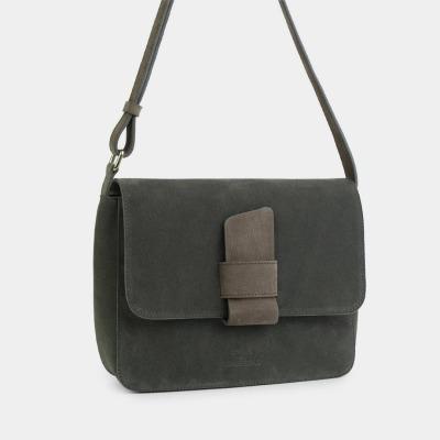 ann kurz Alma Shoulder Bag Suede