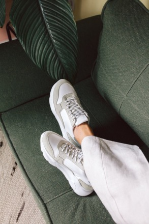 THE MANGO CHUNKY SNEAKERS mint JUTELAUNE
