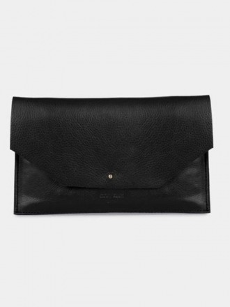 Mia Envelope Black by ann kurz