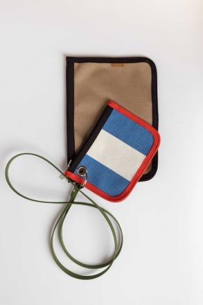 SKFK NIRA BAG blue stripes Recycled