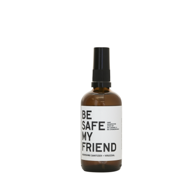 BE SAFE MY FRIEND Sanitizer Organic