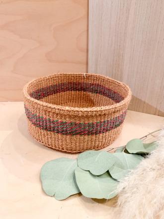 Bread Basket F28 Grün-Rot FAIR TRADE