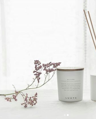 Luhta Home Candle Autere finely-crafted
